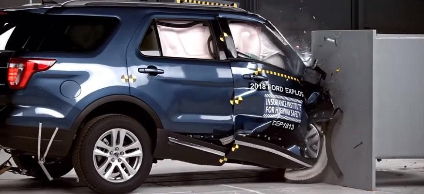 Two popular midsize SUVs fail IIHS crash test