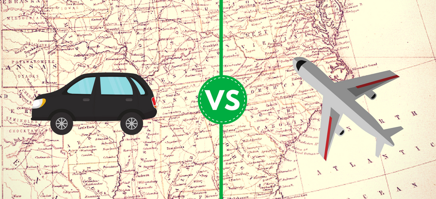 Flying vs. driving: Which is a cheaper vacation travel option?