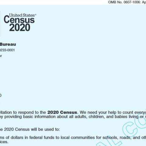 Census mailer