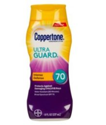 Coppertone Ultra Guard Lotion SPF 70 captures the top spot on a new list of best cheap sunscreen lotions.