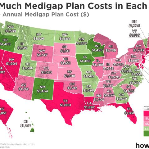 Medigap map