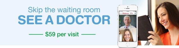 walgreens virtual doctor visit banner