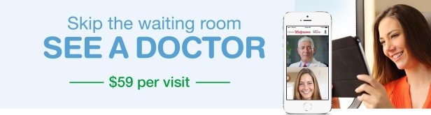walgreens virtual doctor visit banner
