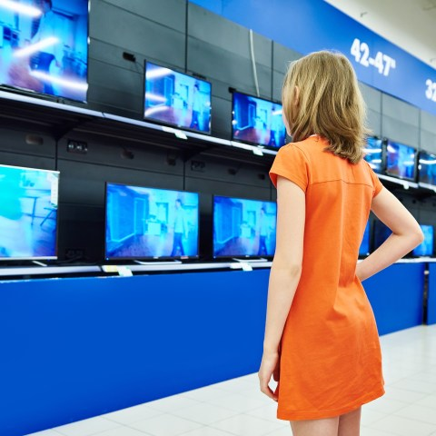 TVs in store