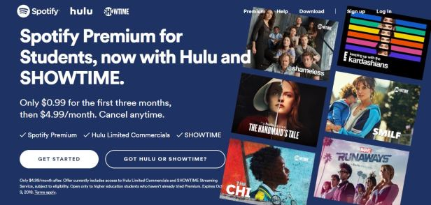 Spotify Premium -- These movie, TV and music services offer student pricing