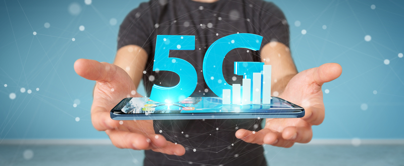 5G network via Dreamstime
