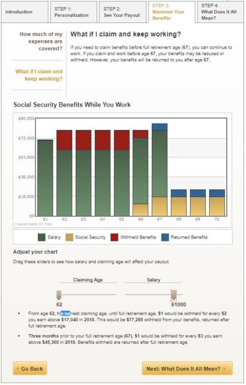 AARP Social Security calculator 4
