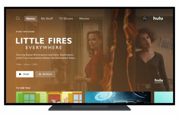Hulu User Interface (Image: Hulu)