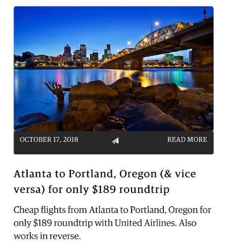 Secret Flying: Find all the cheap flights with this app