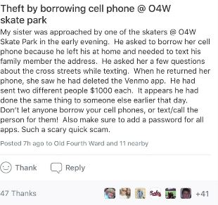 Scam alert: Why you should be very wary of letting a stranger borrow