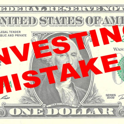 investing mistake