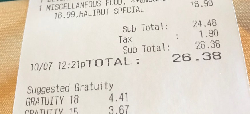 What your server won't tell you about your receipt