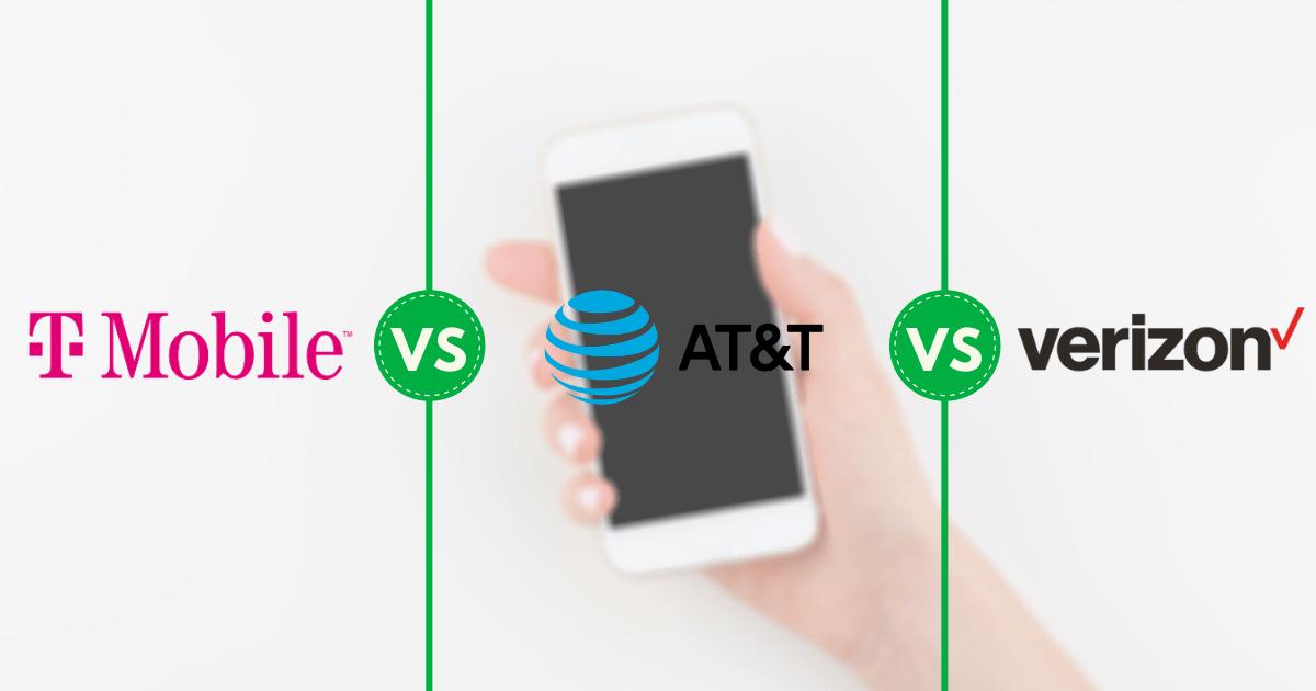 Unlimited Plans Comparison T Mobile Vs At T Vs Verizon Clark Howard