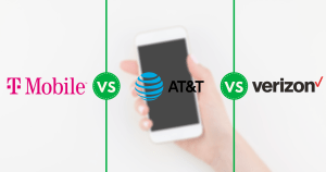 T-Mobile AT&T Verizon Postpaid Unlimited Plans