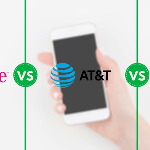 T-Mobile AT&T Verizon Postpaid Unlimited Plans