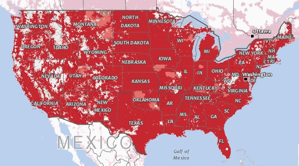 Coverage maps: Find a cheap cell phone plan with the best ... on wireless carrier coverage comparison, phone service coverage maps, wireless carrier coverage maps, wireless coverage maps comparison, wireless coverage by zip code,
