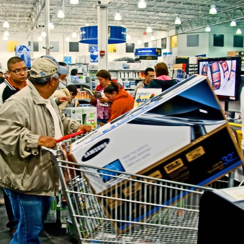 Black Friday shopping -