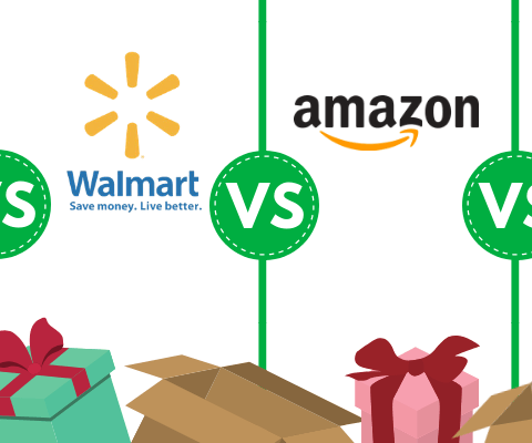 Stores with free shipping for the holidays: Amazon vs. Walmart vs. Target vs. Best Buy