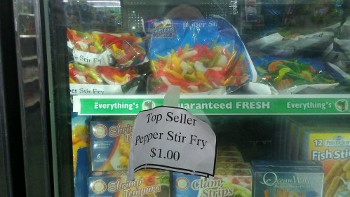 stir fry peppers $1 dollar tree