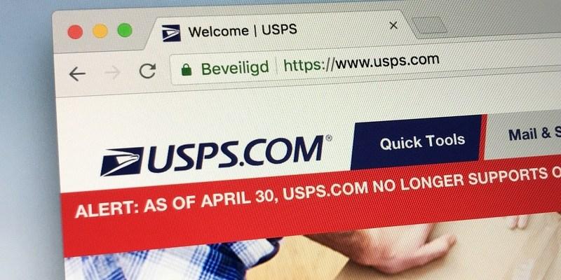 usps.com website