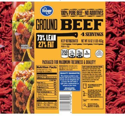 kroger ground beef recall
