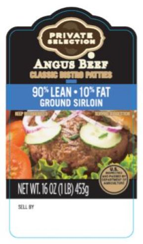 private selection angus beef