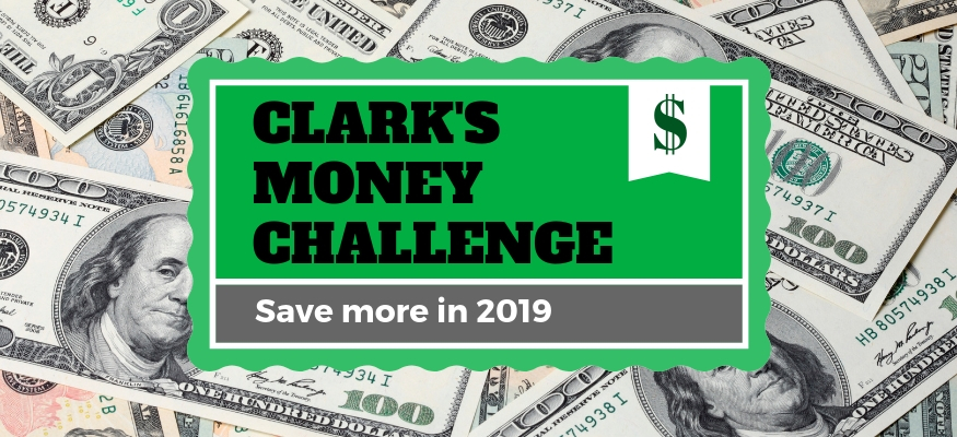 Clark's Money Challenge: How to save $3,000 this year