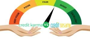 Credit Monitoring Services: Credit Karma vs. Credit Sesame