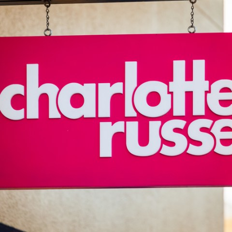 Charlotte Russe Logo On Store Front Sign