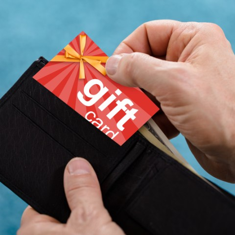 What to do with gift cards with small balances