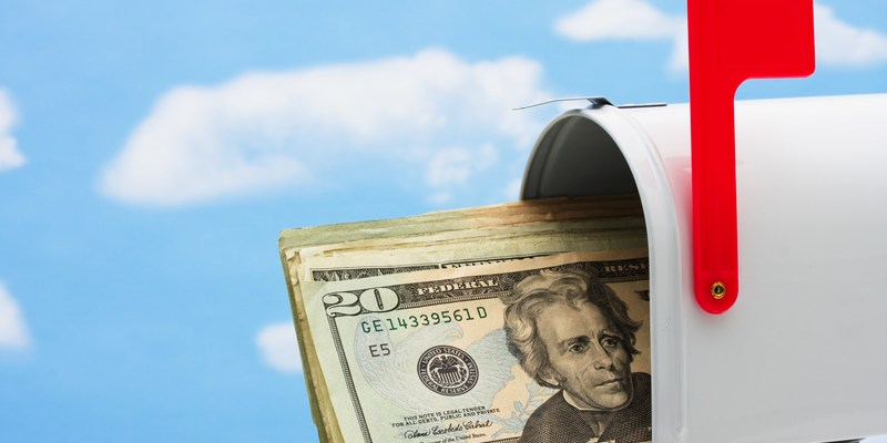 Here's why you should never send cash in the mail