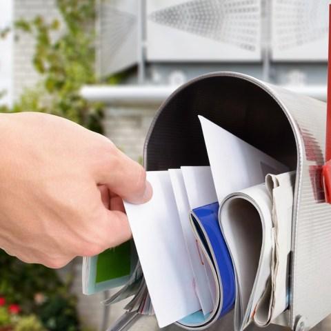 packed mailbox