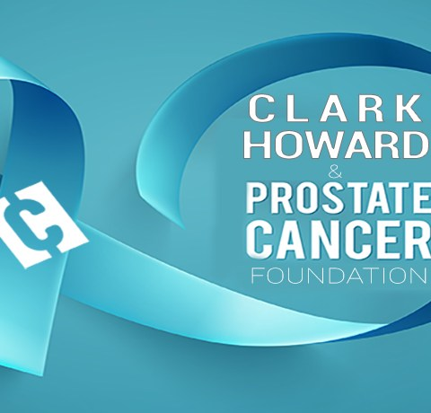 Clark and the Prostate Cancer Foundation are working together to raise awareness