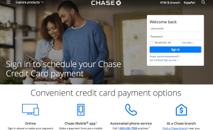 Chase bill pay
