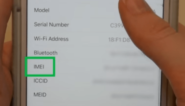 Quickest way to find the IMEI number on your phone