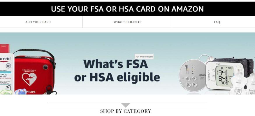 Amazon.com FSA and HSA store