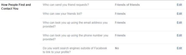 Facebook allows some phone numbers to be searchable — and you can't disable it