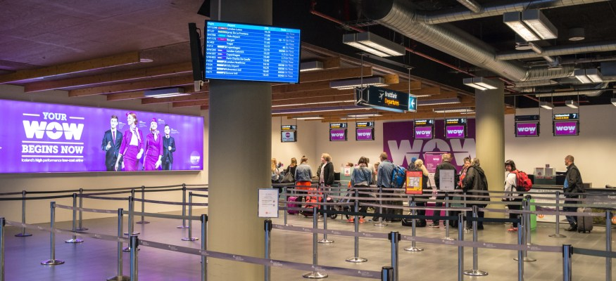 Wow Air is shutting down and canceling all flights