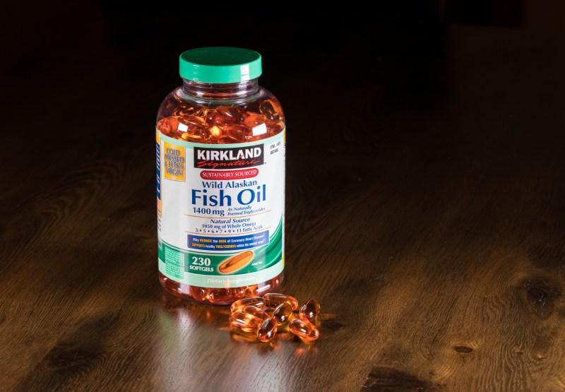 costco's kirkland signature wild alaskan fish oil 1400 mg softgels