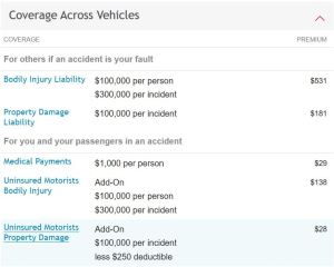 Travelers uninsured motorist coverage