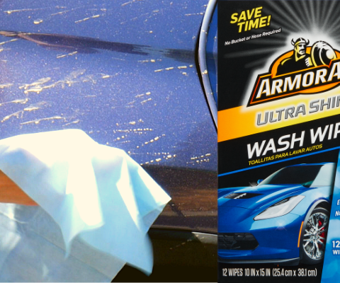 Do Armor All Wash Wipes really work? Team Clark put them to the test!