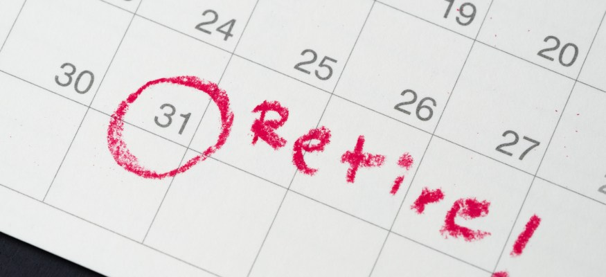 Retirement target date