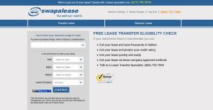 swapalease transfer eligibility check