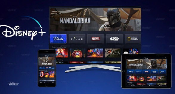 Preview of Disney+ Streaming Service