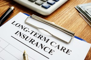 Long-term care insurance LTC or LTCI application.