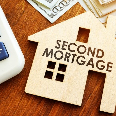 second mortgage graphic