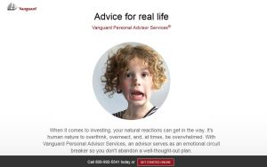 vanguard personal advisor services homepage