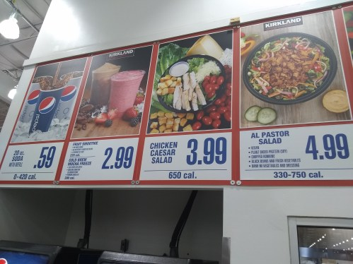 Costco food court salads