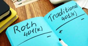 Roth 401(k) versus traditional 401(k)