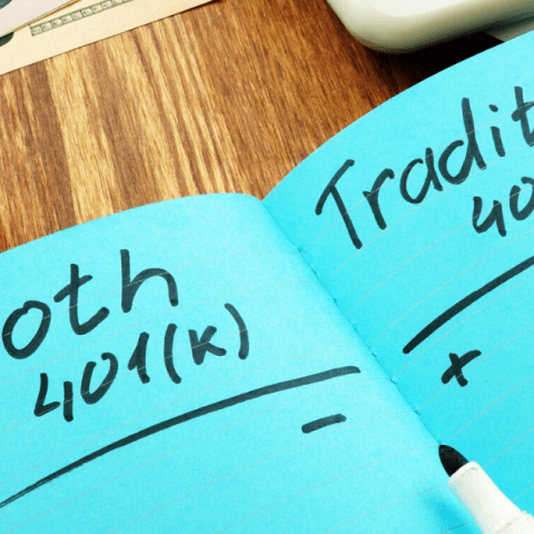 Roth 401(k) versus traditional 401(k)